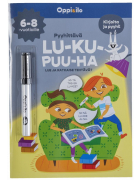 Pyyhittävä LU-KU-PUU-HA -puuhakirja 6-8 v