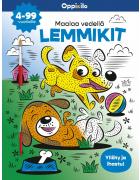 Maalaa vedellä LEMMIKIT -puuhakirja 4-99 v