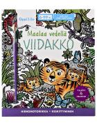 Maalaa vedellä VIIDAKKO -puuhakirja 6-99 v