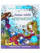 Maalaa vedellä Merenneidot -puuhakirja 8-99 v