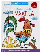 Maalaa vedellä MAATILA -puuhakirja 4-99 v