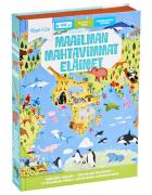 Maailman mahtavimmat eläimet -palapeli ja kirja 6-99 v